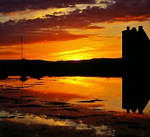 Lochranza Sunset by Susan Dailey