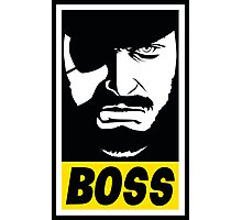 Obey the Boss Photographic Print