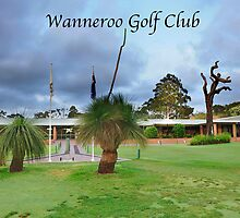 Wanneroo Golf Club greeting cards 2012 by Colin White