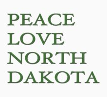 Peace Love North Dakota by riskeybr