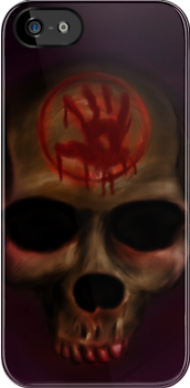 Dark Brotherhood Skull by backlash92