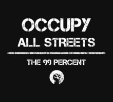 Occupy All Streets Commando Style - White by daeryk