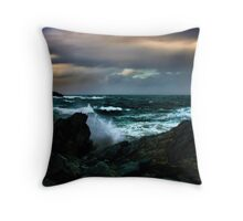 Touch Of Colour A Stormy Day Throw Pillow
