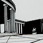 Albright Knox by HarderHarmonies
