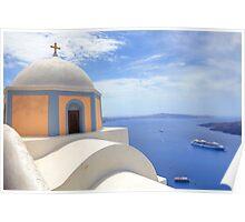 Santorini - Greece Poster