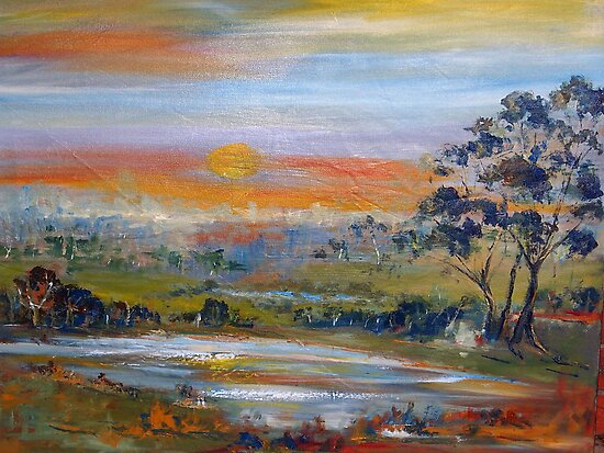 Sunset Pemberton WA Australia by Margaret Morgan (Watkins)