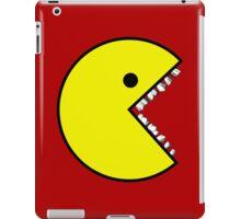 Pacman with teeth iPad Case/Skin