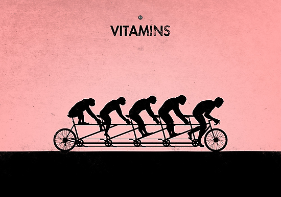 99 Steps of Progress - Vitamins by maentis