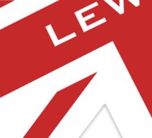 Lewis Hamilton - Union Jack Sticker
