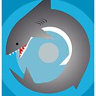 Radial Shark by Patrick Sluiter