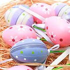Easter Colourful Eggs by Kelvin  Wong