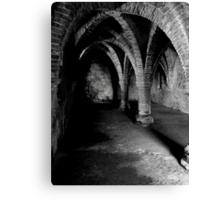 Gothic arches Blakeney Norfolk. Canvas Print