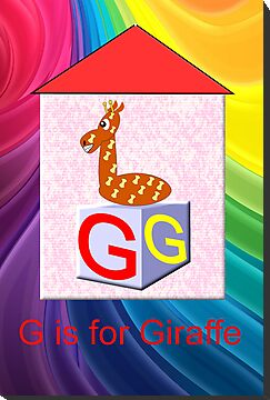 G is for Giraffe Play Brick by Dennis Melling