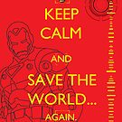Keep calm and REPULSOR BLAST! by BlueFayt
