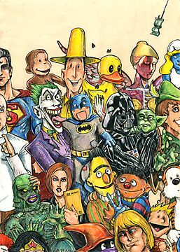 Pop Culture Ventriloquist Mashup by JohnnyGolden