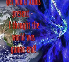 sorry the world didn't end by glenno