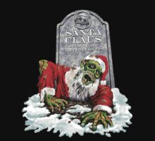 Zombie Christmas Horror T Shirt by sinxdesigns