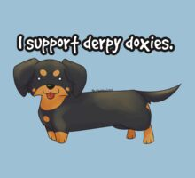 Derpy Doxies (Black and Tan) by Jordan McDonald