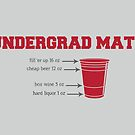 Undergrad Math by fishbiscuit