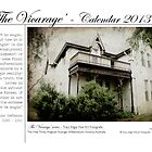 The Vicarage - 2013 Calendar #1 by Tracy Edgar