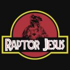 Raptor Jesus Jurassic Park Mashup - large graphic by portispolitics