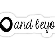 ∞ & beyond. Sticker