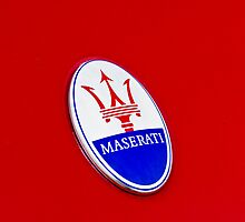 HELLO MY NAME IS : MASERATI by Daniel  Oyvetsky