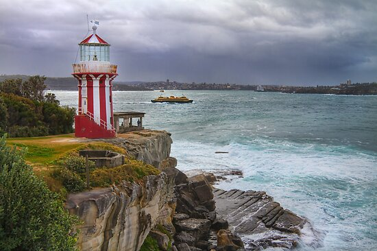 Stormy Afternoon at Hornby Lighthouse by Jennifer Bailey