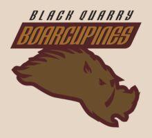 Black Quarry Boarcupines by jdotrdot712