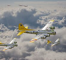 B17 - 487th Bomb Group by warbirds