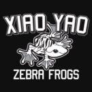Xiao Yao Zebra Frogs by jdotrdot712
