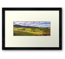 Light & Shade - Somewhere near Oberon NSW - The HDR Experience Framed Print