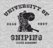 College of sniping by GiorgosPa