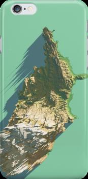United States Terrain  by echodesign