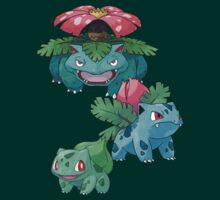 Gen 01 - Grass Starter Trio by Warlock85
