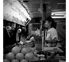The Greengrocer Photographic Print
