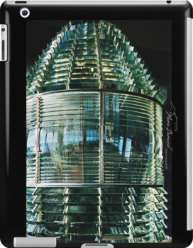 Navesink Fresnel Lens - - Cards, iPhone & iPad Cases by Maria A. Barnowl
