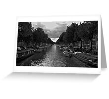 Life on the Canal Greeting Card