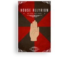 House Allyrion Canvas Print