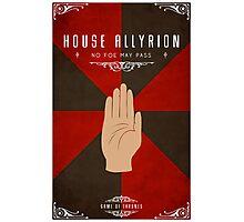 House Allyrion Photographic Print