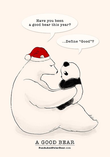 A Good Bear by Panda And Polar Bear
