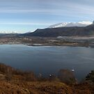 Fort William,Ben Nevis and Loch Linnhe. by John Cameron