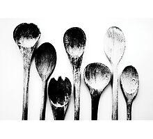 Spoons Photographic Print