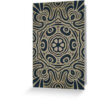 Jugendstil Greeting Card