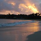&quot;Sunburst&quot;, Hanalei Bay, Kaua&#x27;i, Hawaii by Meagan Healy