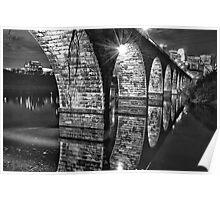 Stone Arch Bridge Poster