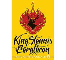 Stannis Baratheon Sigil Poster Photographic Print