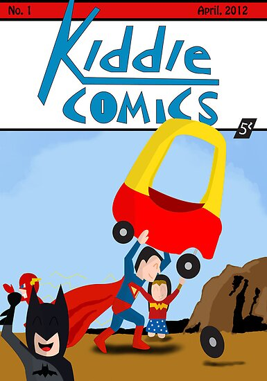 Kiddie Comics #1 by caseyjennings