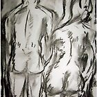Man and Woman Rear by kerynkmanlitton