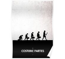 99 Steps of Progress - Costume parties Poster